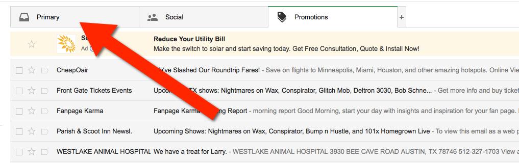 whitelist-gmail